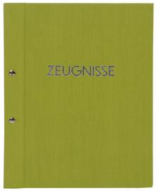 Zeugnismappe Goldbuch grün